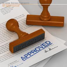 Stamp 3D Model