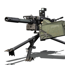 HK GMG - 40mm Grenade Machine Gun 3D Model
