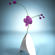 Triangle Vase 3D Model