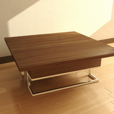 Square Table 3D Model