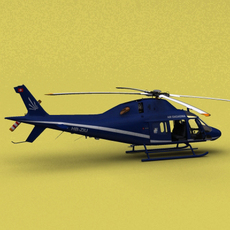 AW-119 Air Engiadina 3D Model