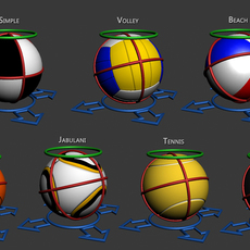 Simple Ball Rig V for 3dsmax 2.1.0