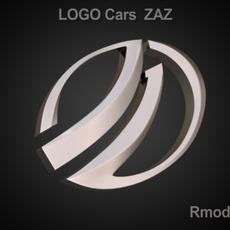 Zaz 3d Logo 3D Model
