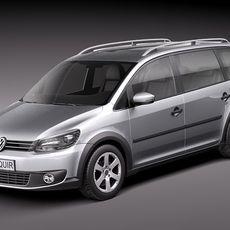Volkswagen Cross Touran 3D Model