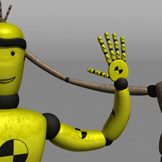 Crash Test Dummy Rig for Maya 1.0.1
