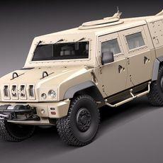 Iveco LMV 3D Model
