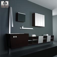 Bathroom furniture 05 Set 3D Model