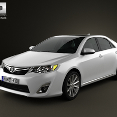 Toyota Camry 2012 US Version 3D Model