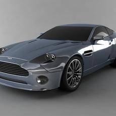 Aston Martin Vanquish S V12 std mat 3D Model