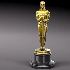 OSCAR Award Statue 3D Model