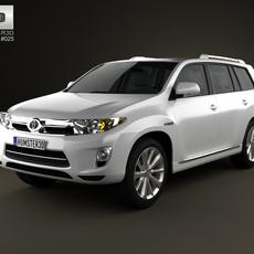 Toyota Highlander Hybrid 2011 3D Model