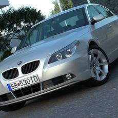BMW 5 - series (2006) 3D Model