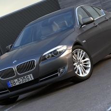 BMW 5 - series (2010) 3D Model