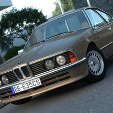 BMW 6 -series  (1986) 3D Model