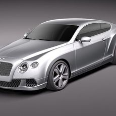 Bentley Continental GT 2012 midpoly 3D Model