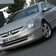 Peugeot 607 (2007) 3D Model