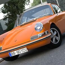 Porsche 911 (1963) 3D Model