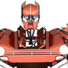 Transformer Autobot Triumph Herald 3D Model