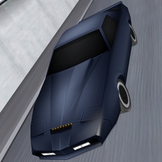 K.A.R.R. Car 3D Model