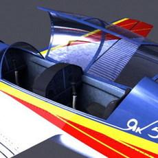 Yak 54 3D Model