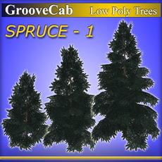 LP_Spruce1_GC 3D Model