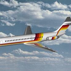 DC-9 3D Model