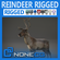 Rigged Reindeer 3D Model