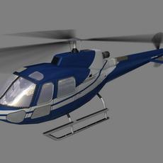 As-350 V5 3D Model