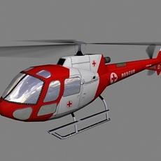 As-350 V6 3D Model