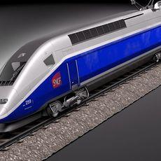 TGV Train 2011 3D Model