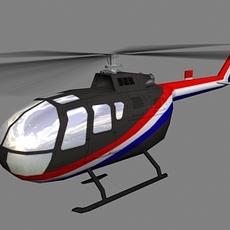 Bo105 V2 3D Model