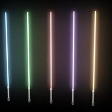 lightsaber rig for Maya 1.0.0