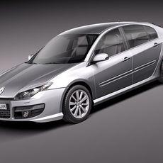 Renault Laguna Sedan 2011 3D Model
