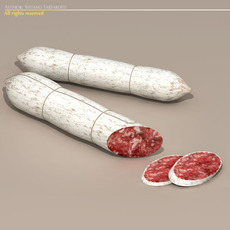 Salame 3D Model
