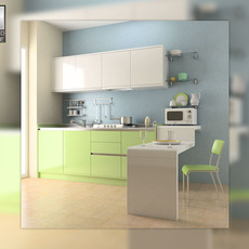 Kitchen Set 03 3D Model