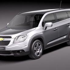 Chevrolet Orlando 2012 3D Model