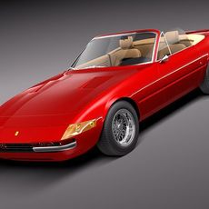 Ferrari Daytona 1968-1973 spider 3D Model