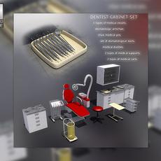 Dentist or Medical Office Equipment 3D Model