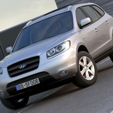 Hyundai Santa Fe (2006) 3D Model