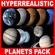 Hyperreal Solar System Pack - Maya 3D Model