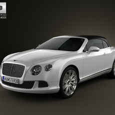 Bentley Continental GT Convertible 2012 3D Model