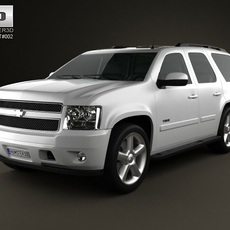 Chevrolet Tahoe 2010 3D Model