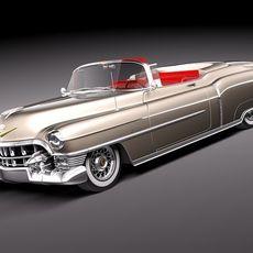Cadillac Eldorado Deville Convertible 1953 3D Model