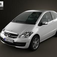 Mercedes-Benz A-Class Coupe 3D Model