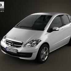 Mercedes-Benz A-Class 5door 3D Model