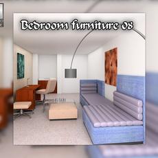 Bedroom Furniture 08 Sets 3D Model