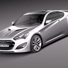 Hyundai Genesis Coupe 2013 3D Model