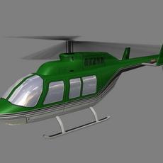 Jet Ranger V3 3D Model