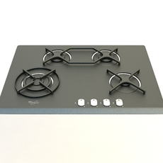 Gas cooker 3 3D Model