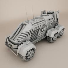 Sci fi vehicle 3D Model